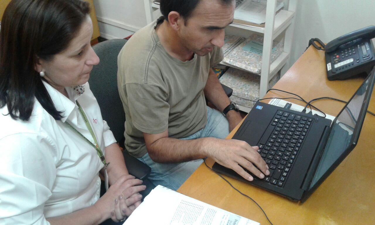 20 09 Site Professor On line adaptado para cegos e deficientes visuais