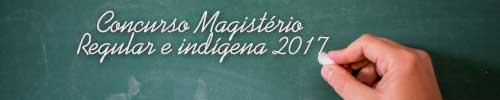 Concurso Magistério 2017