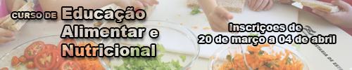 Curso Educação Alimentar e Nutricional 2018