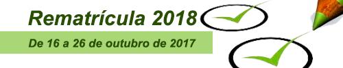 Rematrícula 2018