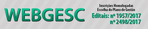 WEBGESC 1957 e 2498 de 2017
